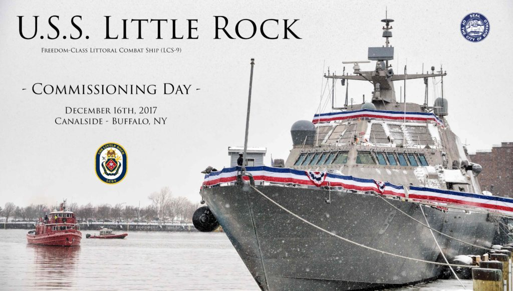 Little Rock LCS-9 Commissioning 2017 Buffalo NY Photography
