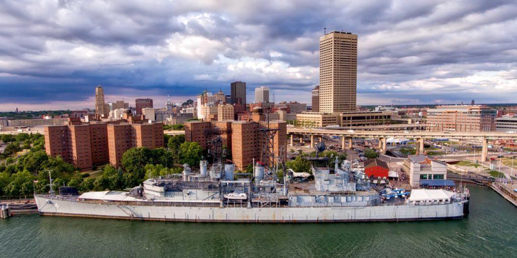 Buffalo Erie County Naval Park Photography